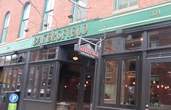 Exterior of Bakersfield on Mass Ave.